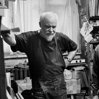 В.Комаров, художник. 2006г. :: Владимир Фроликов