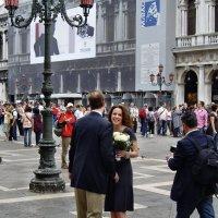 Свидание в Венеции :: михаил кибирев