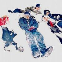 Дети в снегу :: Дмитрий Аев