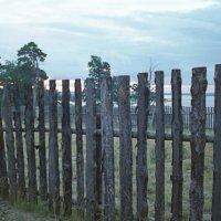 Забор и провода :: Яков Реймер