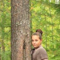 В лесу :: Анастасия Ходыкина