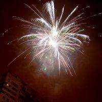 Новый год во дворе :: Алексей Кудрявцев