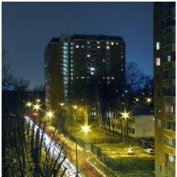 Вечер из моего окна :: Валерий Оболенский
