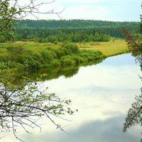 Леферовский  поворот на реке Сылва :: валерий телепов