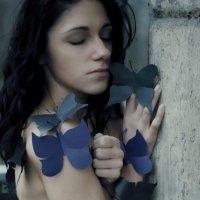 Свободная,как бабочка :: Inga Medvedeva