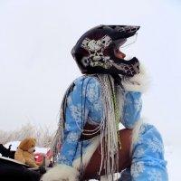 Мото-снегурочка :: Алена Мельникова