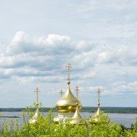 О происхождении золота куполов :: Валерий Оболенский