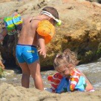 детки на море :: Татьяна Атнашевва