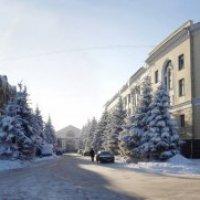 Вид из сквера :: Владимир Ноздрачев
