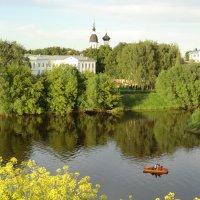 Вид с валов Великолукской крепости.... :: Владимир Павлов