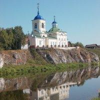 Церковь в с.Слобода Свердловской обл. :: Стил Франс