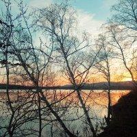 Закат на озере :: Стил Франс