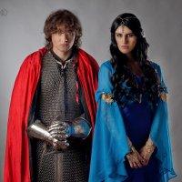Mordred and Morgana l Мордред и Моргана :: Golden T-light Show