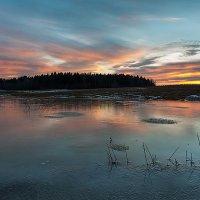 Ледяной закат :: Eugene Remizov