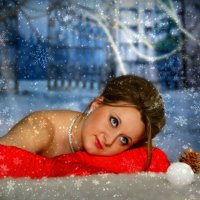 В зиммнем лесу :: Татьяна Алексеевна