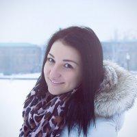 Зимняя прогулка с любимой подругой :: Артур Абдурахманов