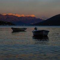 Закат в Которской бухте :: Alexander Reiz