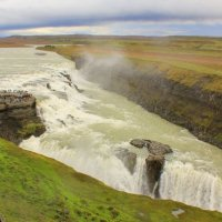 Исландия, водопад Гюдльфосс :: Елена Трунова