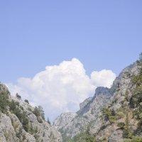 Озеро в горах. :: Валерий Дмитриев