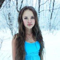 девушка на морозе) :: Олееся Руденко