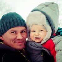 с папой :: Алёна Буравцова