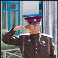В память о терских казаках корпуса генерала Доватора :: Alexandr Semeniakin