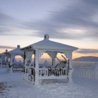 Закат на Байкале.Название :: Марина Демьяненко