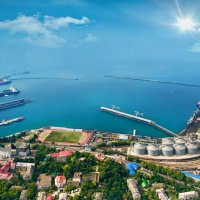 Панорама Туапсе :: Наталья Белозёрова