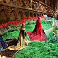 Рождественский вертеп в Нотр Дам де Пари :: Марина Витушкина