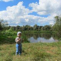 Отдых на реке Днепр :: Татьяна Ребенок