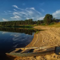 Лодка :: Альберт Беляев