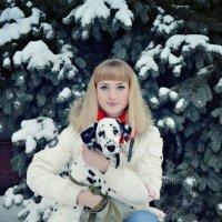 Оля и Барбара :: Ирина Данилова