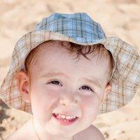 Солнечный портрет на пляже :: Юлия Makarova