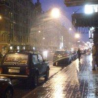 дождь вечером в Питере :: Зоя Яковлева