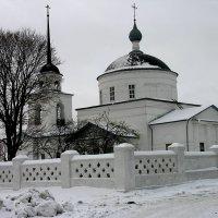 Церковь Георгия Супонево Брянск :: Тамара Цилиакус