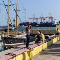 Осень в Одессе :: Вахтанг Хантадзе