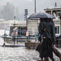 Дождь он и в Праге дождь :: Максим Логунов