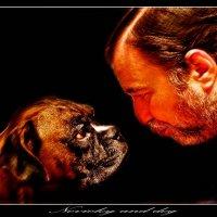 Novockiy and dog :: Евгений Мокин