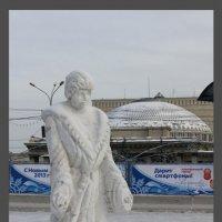 Снегурочка из снега :: Наталья Золотых-Сибирская