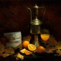 Осенний этюд с апельсинами :: Александр Сергеев