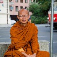 Буддийский монах :: Максим Логунов