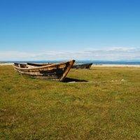 Байкальские лодки :: Наталья Покацкая
