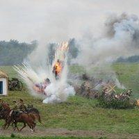 Реконструкция Гумбинненского сражения :: Людмила Жданова