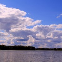 И плывут, и плывут облака :: Татьяна Ломтева