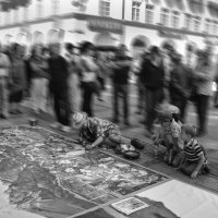 Уличный художник :: Oxana Schneider