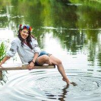 На реке Ворскла :: Кристина Волкова(Загальцева)