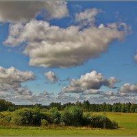 небо над Бородинским полем :: Дмитрий Анцыферов