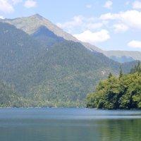 озеро Рица :: Александра Зайцева