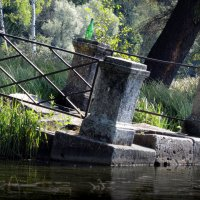 руина островной террасы-пристани :: sv.kaschuk