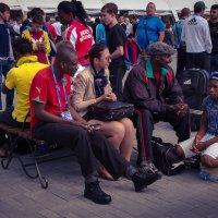 В парке дзюдо на чемпионате мира в Челябинске :: Марк Э